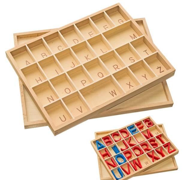 Lĩnh vực Ngôn ngữ và danh mục các giáo cụ Ngôn ngữ Montessori