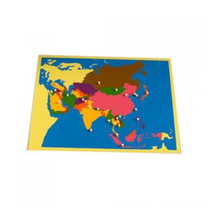 giáo cụ khoa học montessori - bản đồ châu Á- http://thientainhi.com/danh-muc-giao-cu-khoa-hoc-montessori/