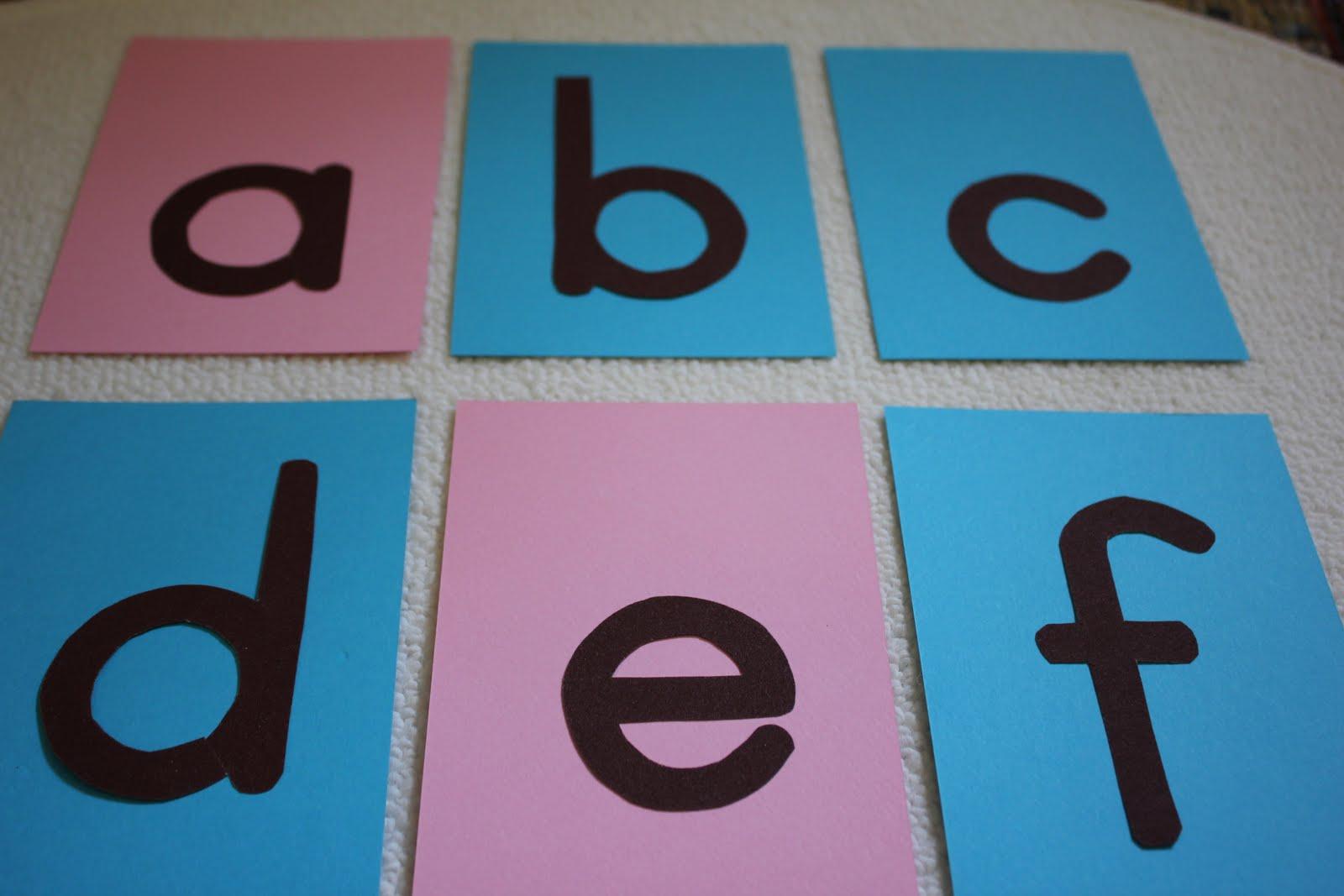Hướng dẫn tự làm thẻ chữ nhám Montessori