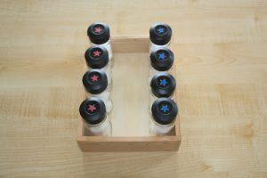 lọ chứa mùi hương Montessori Smelling Bottles
