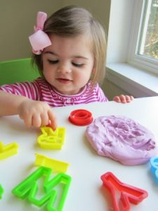 học bảng chữ cái alphabet playdough