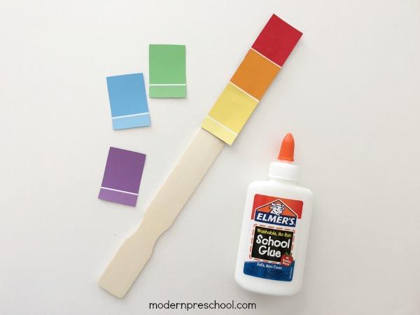 Cảm quan màu sắc Montessori