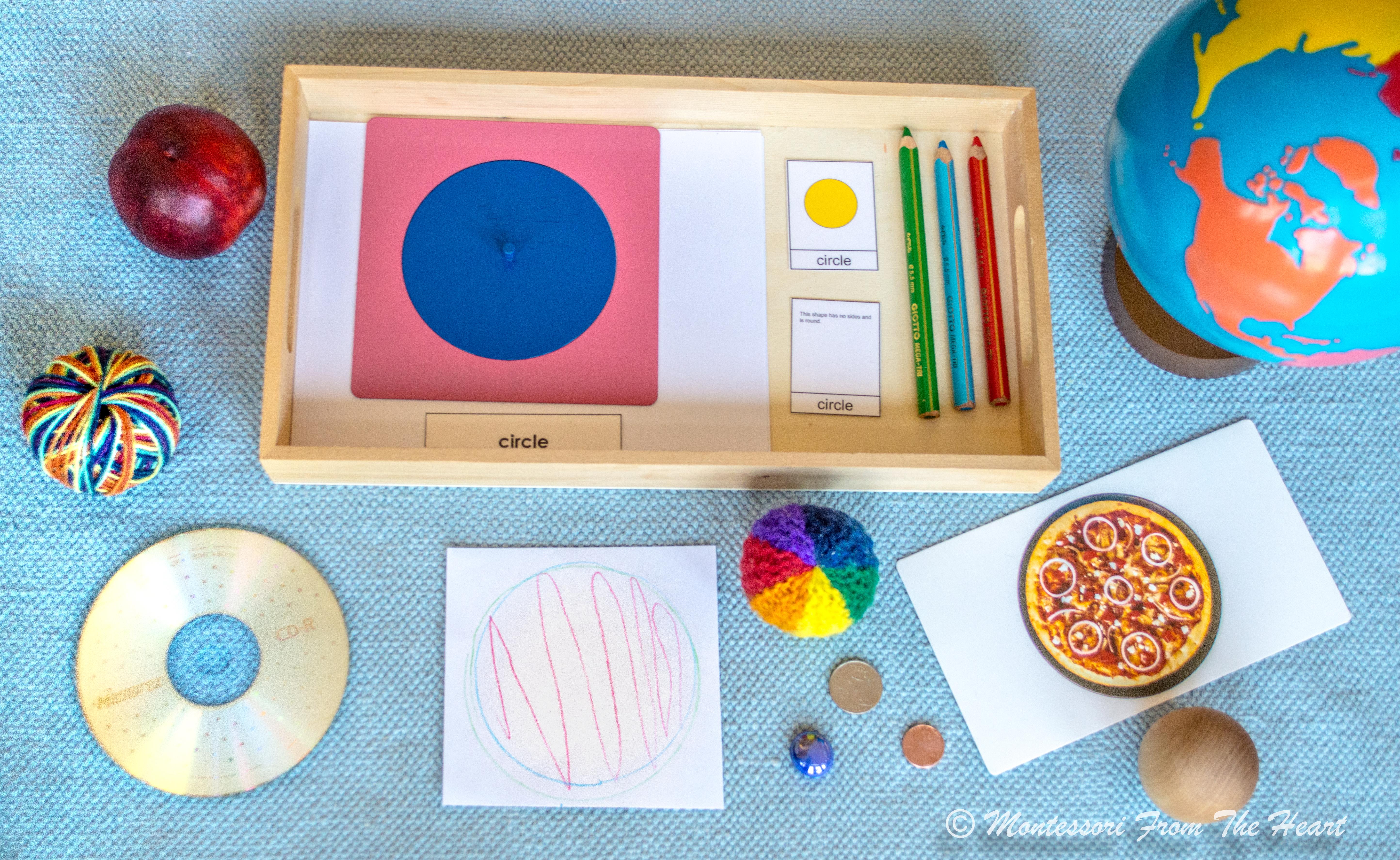Hướng dẫn tự làm học cụ hình học Geometric Inserts Montessori