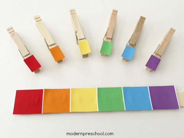 Làm học cụ cảm quan màu sắc Montessori